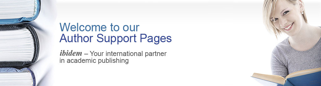 Welcome to our Author Support - ibidem
